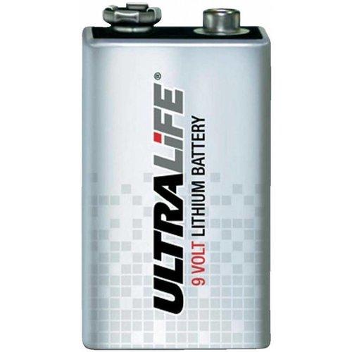 Ultralife 9-Volt Lithium Batterij