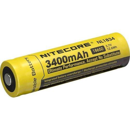 Nitecore NL1834 18650 3400 mAh Li-Ion Accu