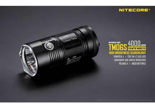 Nitecore TM06S Zaklamp