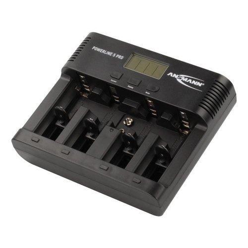 Ansmann Powerline 5 Pro Batterijlader