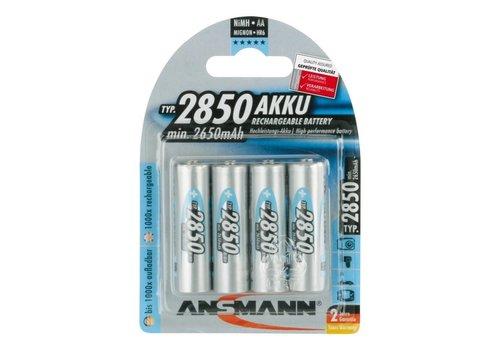 Ansmann Oplaadbare AA Batterijen 2850 mAh BL4