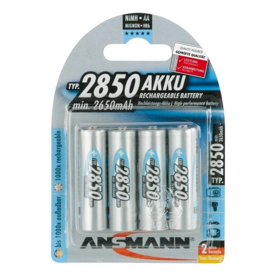 Oplaadbare AA Batterijen 2850 mAh BL4