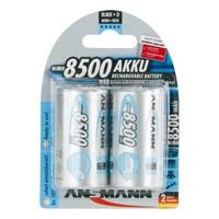 Oplaadbare D Batterijen 8500 mAh MaxE HR20 BL2