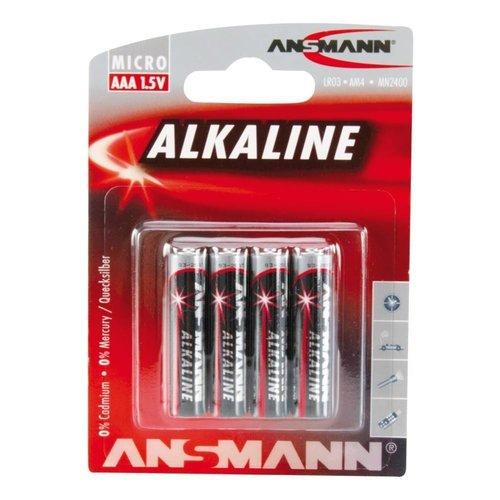 Ansmann Red Alkaline AAA BL4