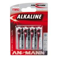 Red Alkaline AA BL4