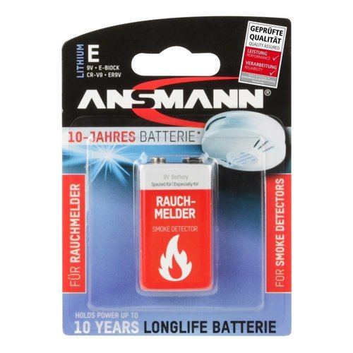 Ansmann 9V Lithium Batterij BL1