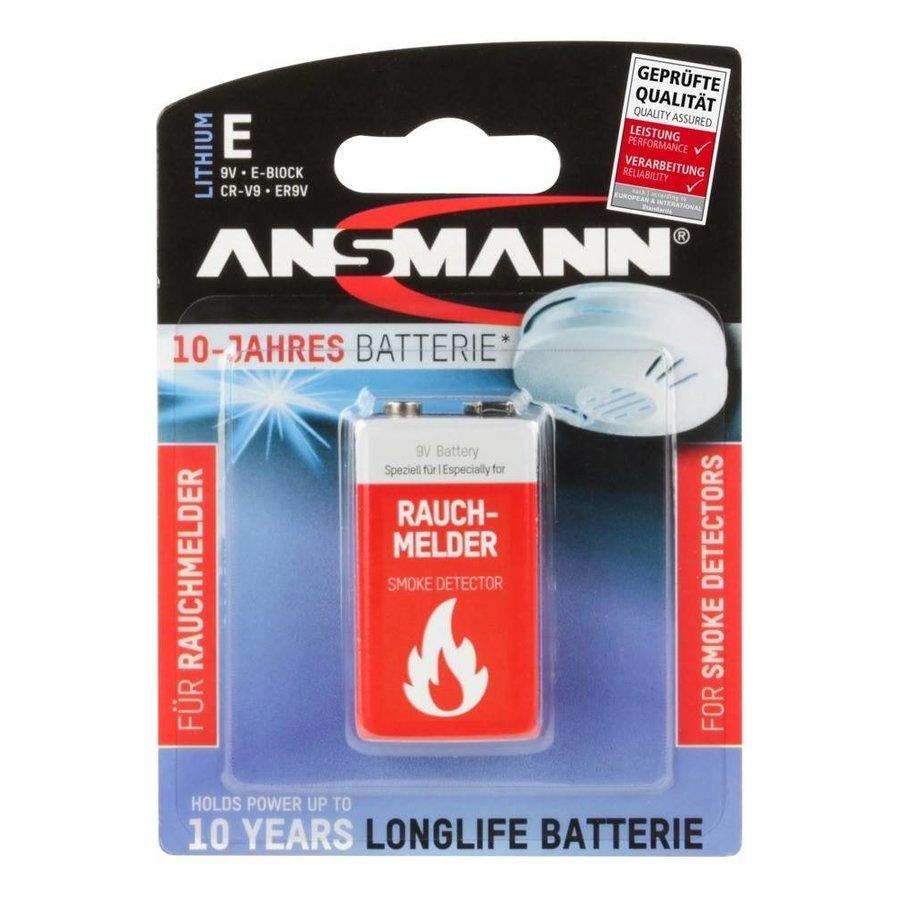 9V Lithium Batterij BL1