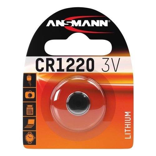 Ansmann CR1220 3V Lithium Knoopcel BL1
