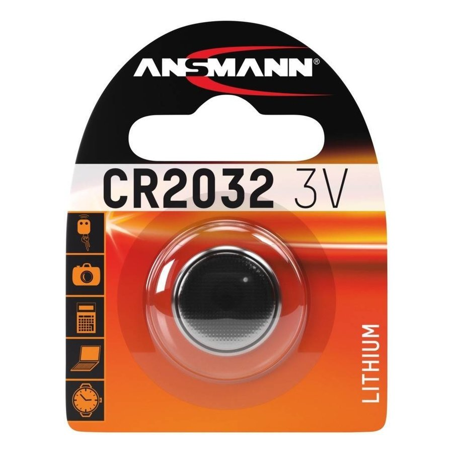 CR2032 3V Lithium Knoopcel BL1