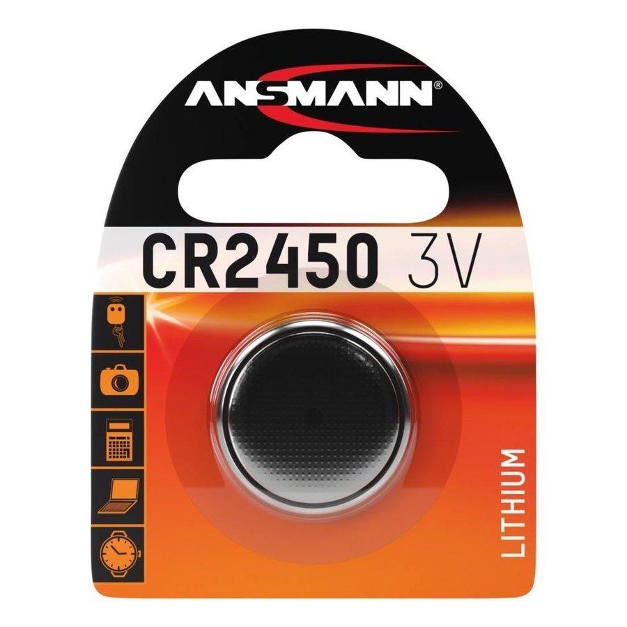 CR2450 3V Lithium Knoopcel BL1