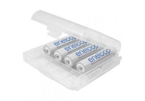 Panasonic ENELOOP AAA 750 mAh Oplaadbare Batterijen met batterijdoosje