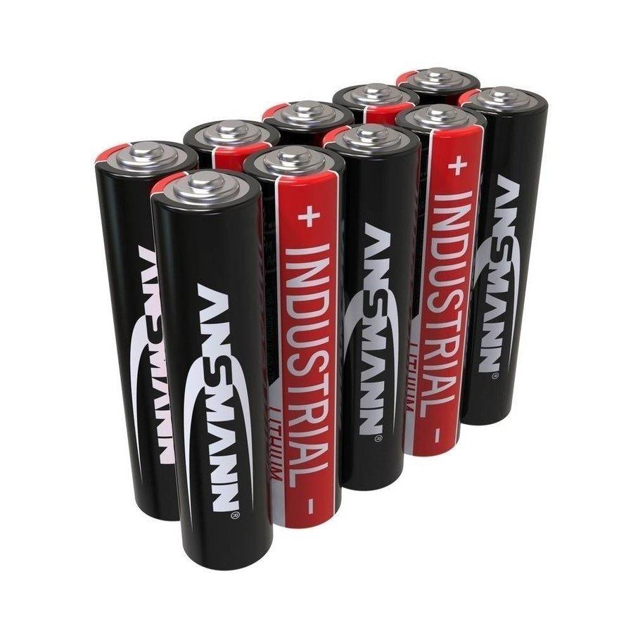 Industrial AAA 10-pack