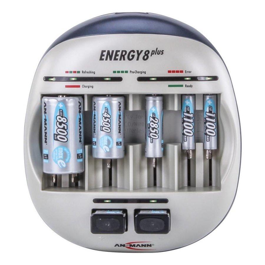 Energy 8 Plus Batterijlader