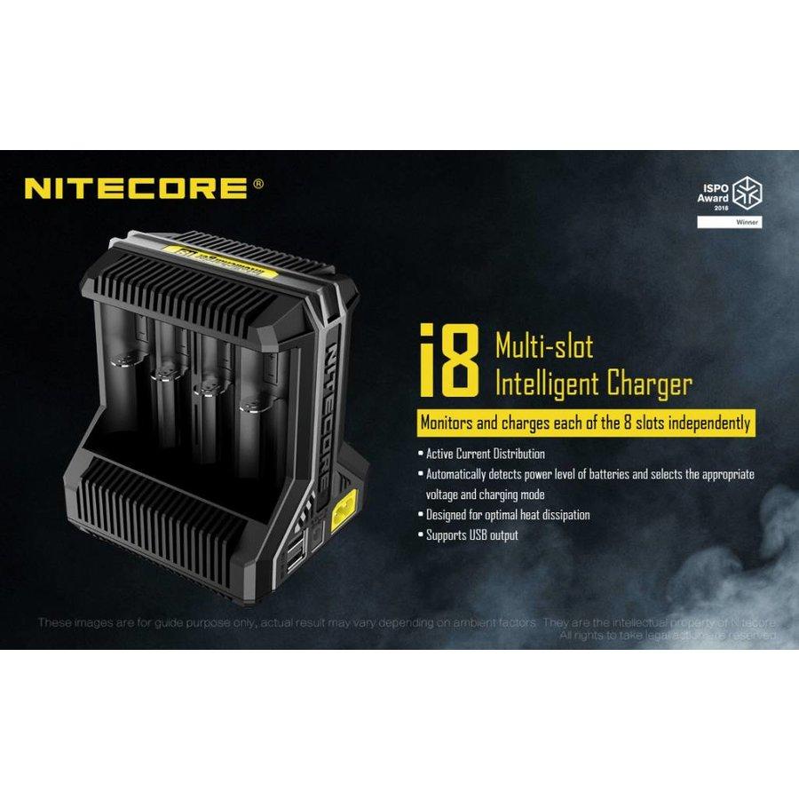 I8 Intellicharge Batterijlader voor Li-Ion batterijen
