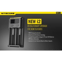 New I2 Intellicharge Batterijlader