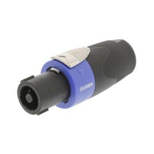 Sweex Connector Speaker 4-Pin ABS Kunststof Zwart