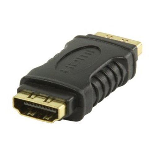 Valueline High Speed HDMI met Ethernet Adapter HDMI Female - HDMI Female Zwart