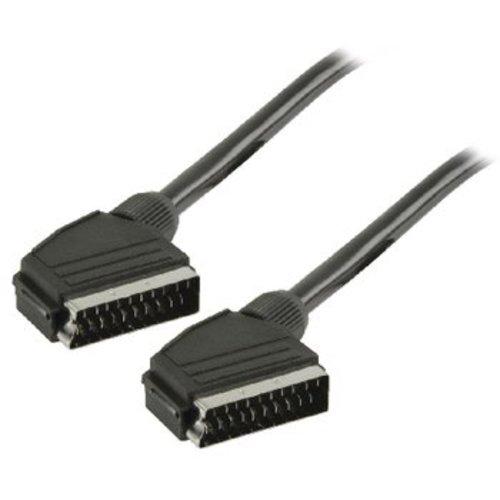 Valueline SCART Kabel SCART Male - SCART Male 1.50 m Zwart