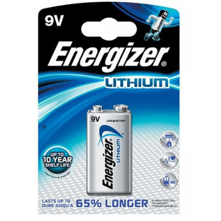 Ultimate Lithium L522 9V BL1