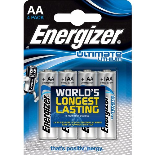 Energizer Ultimate AA Lithium L91 BL4