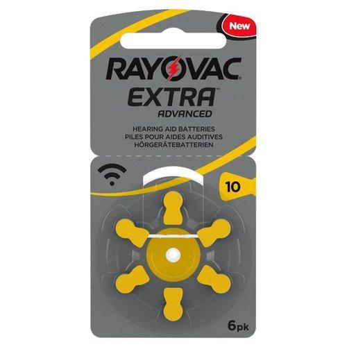 Rayovac Extra Advanced 10 PR70 BL6