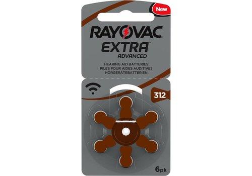 Rayovac Extra Advanced 312 PR41 BL6
