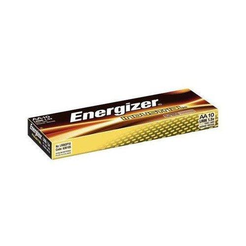 Energizer Industrial AA LR06 alkaline batterijen 10-pack