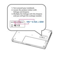 Notebookadapter 15 / 24 VDC 120 W