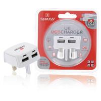 Reisadapter UK USB Ongeaard