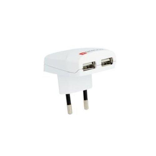Skross Reisadapter Europa-USB Ongeaard