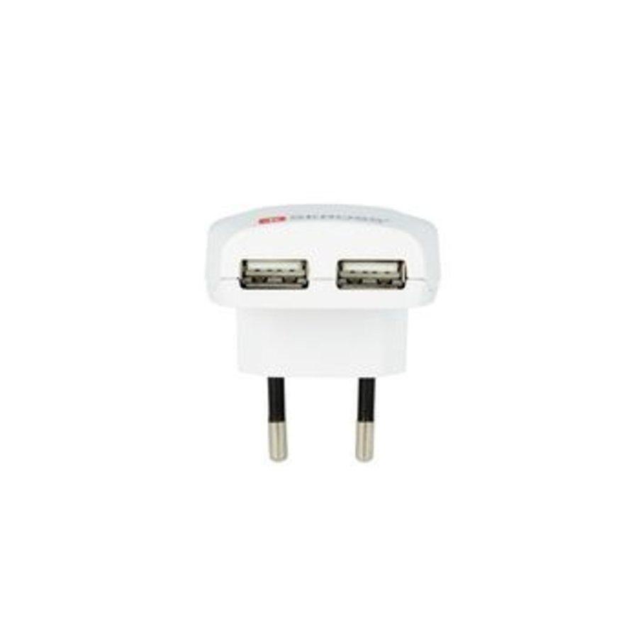 Reisadapter Europa-USB Ongeaard
