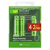 GP ReCyko+ oplaadbare batterijen 950 mAh BL4+2