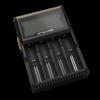 Nitecore D4 Li-Ion batterijlader voor 4 batterijen