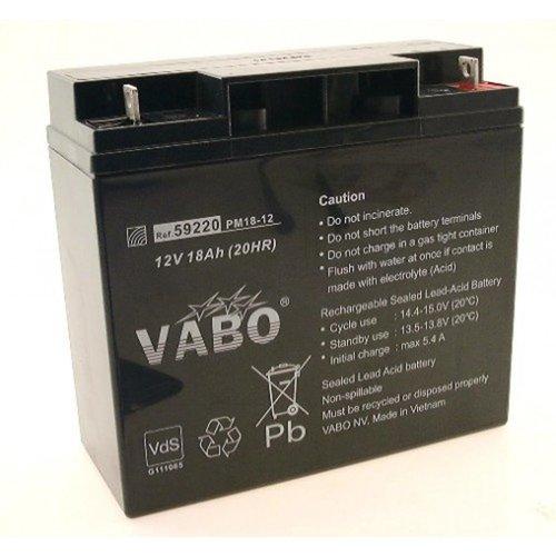 Vabo PM 18-12 SLA Batterij VDS