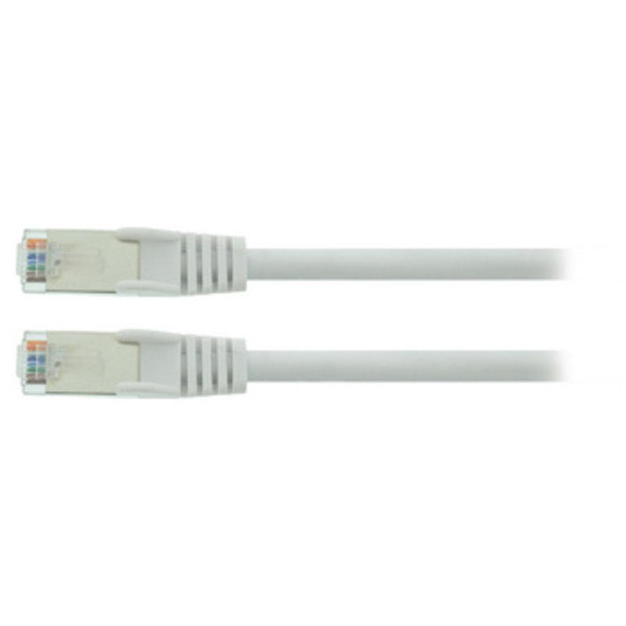 CAT5e SF/UTP Netwerkkabel RJ45 (8/8) Male - RJ45 (8/8) Male 30.0 m Wit
