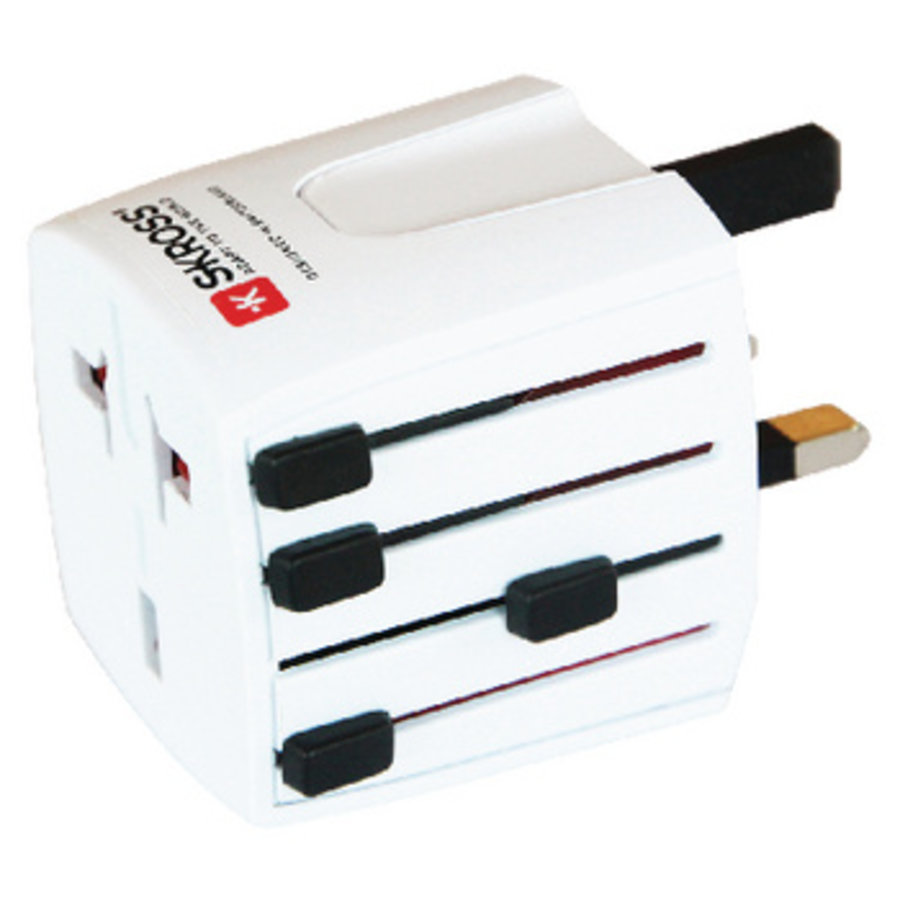 Reisadapter Wereld MUV Micro Ongeaard