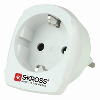 SKross | Travel Adapter | Combo - World-to-Switzerland Earthed