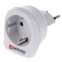 SKross | Travel Adapter | Europe-to-Switzerland Earthed