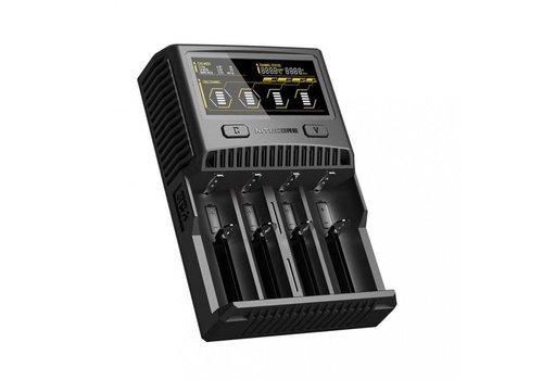 Nitecore SC4 Li-Ion batterijlader