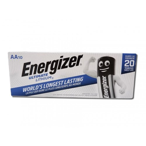 Energizer Ultimate AA Lithium L91 10-Pack