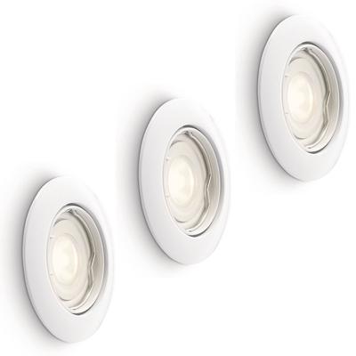 LED Einbaustrahler Dimmbar Murillo 5W - 3 Stück - Weiß