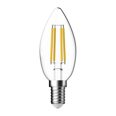 E14 Energetic Kerze Filament LED Lampe - 2.3W - Erestzt 25W