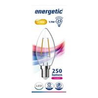 Energetic E14 Energetic Kerze Filament LED Lampe - 2.3W - Erestzt 25W