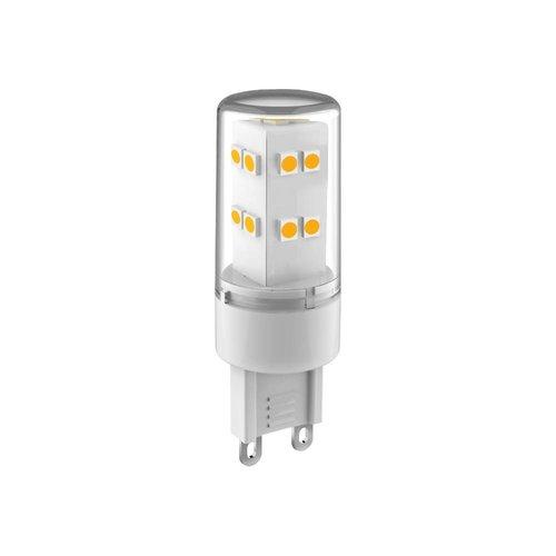 Energetic G9 LED Lampe Transparent Energetic 3,4W - 3000K - 350Lm