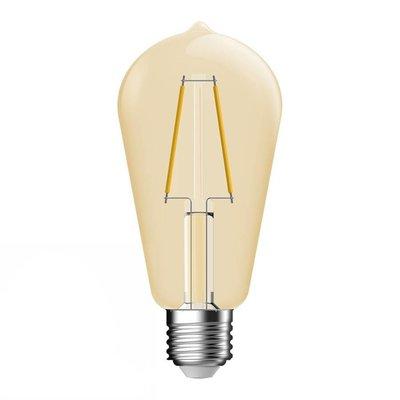 E27 LED Lampe Gold Filament Bulb Energetic - 4.4W - Ersetzt 35W