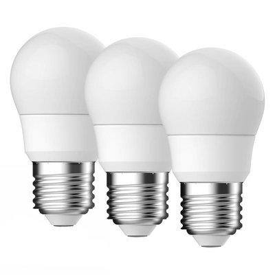 E27 LED Lamp Energetic Kogel 3 Pack - 5.9W - vervangt 40W