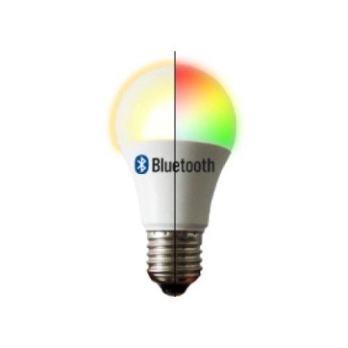 Beleuchtungonline.de LED E27 Lamp - A60 - 6W - 2700K - RGB