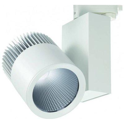LED Schienenstrahler - 40W - 3400 Lumen - 3 Phasen