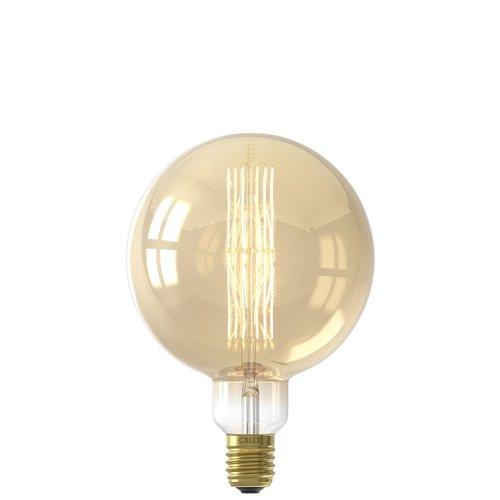 Calex Calex Giant Megaglobe LED Filament - E40 - 1100 Lm - Gold - Vintage Lampe