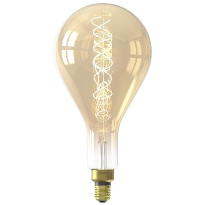Calex Giant Splash LED Flex - E27 - 200 Lm - Gold - Vintage Lampe